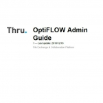 Thru OptiFlow Admin Guide