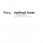 Thru OptiPaaS Guide