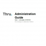Thru Administration Guide