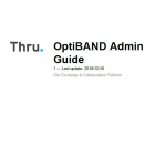 Thru OptiBand Admin Guide